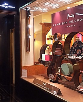 La Maison du Chocolat, Rockfeller Center, NYC - Cuisine Inspired