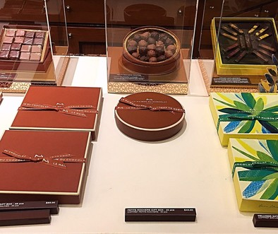 Chocolates at La Maison du Chocolat, NYC - Cuisine Inspired
