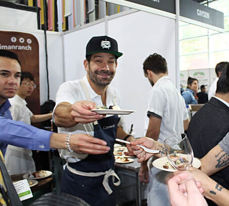 George Mendes from Aldea NYC at StarChefs Congress 2019 - Photo by Cuisine Inspired