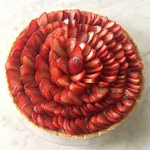 Strawberry Tart - Cuisine Inspired