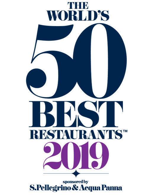 The 2019 World's 50 Best Restaurants Logo