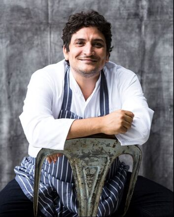 Mauro Colagreco, Head Chef at Restaurant Mirazur, World's Best Restaurant 2019 - Photo: Matteo Carassale
