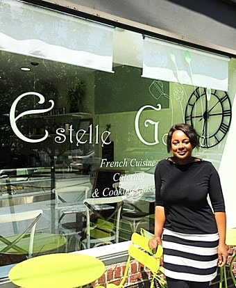 Estelle Lebbrecht ​Owner and Chef ​Estelle Gourmet, Larchmont, NY - Cuisine Inspired