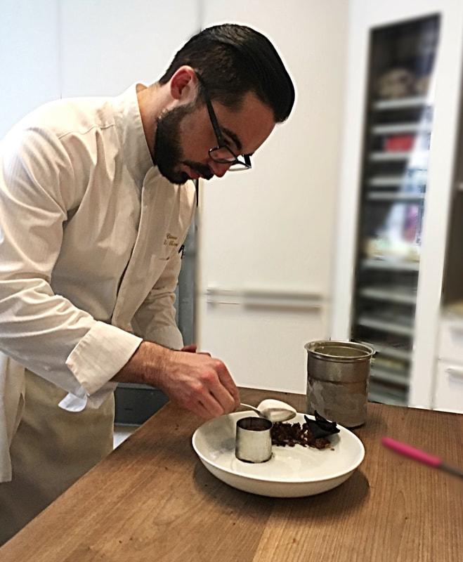 Etienne Le Bastard ​Executive Pastry Chef ​Bouley, NYC - Cuisine Inspired