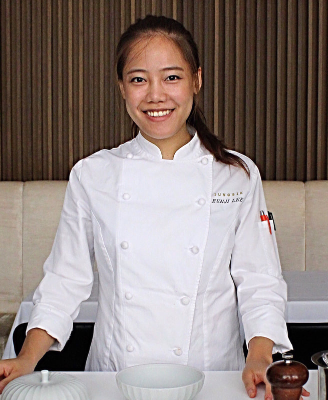 Eunji Lee Pastry Chef Jungsik NY - Photo by Cuisine Inspired
