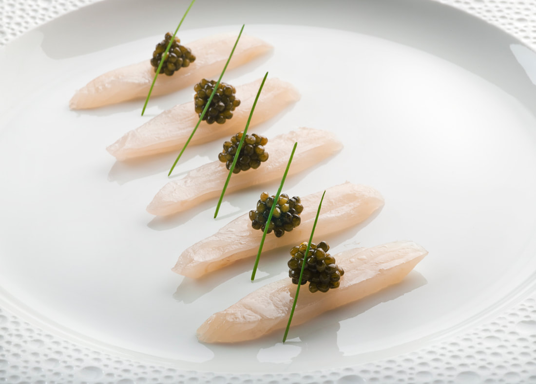 Fish Caviar at Le Bernardin, NY - Photo: Shimon & Tammar