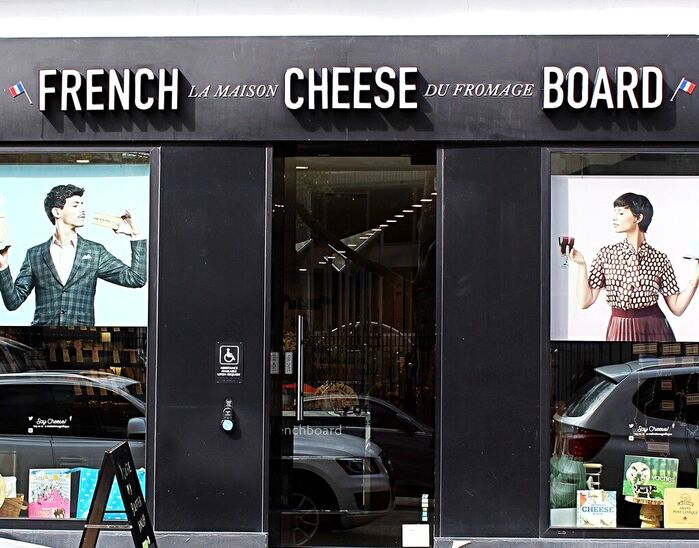 French Cheese Board Exterior, Soho, NYC - Cuisine Inspired