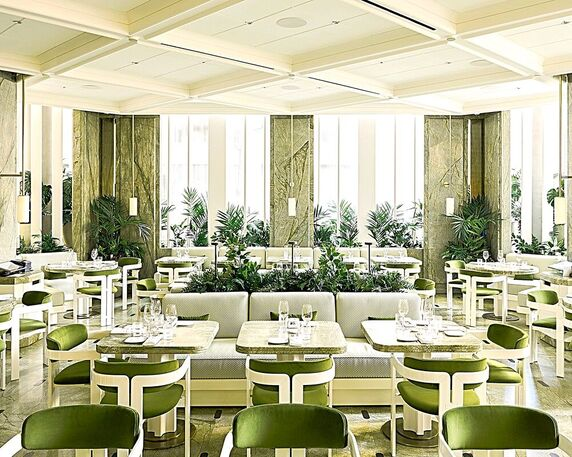 Le Jardinier, NYC - Dining Room - Photo Adrien Dirand - Cuisine Inspired