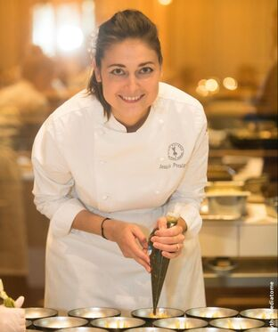 Jessica Préalpato:  World's Best Pastry Chef 2019 - Photo: Thomas Bismuth