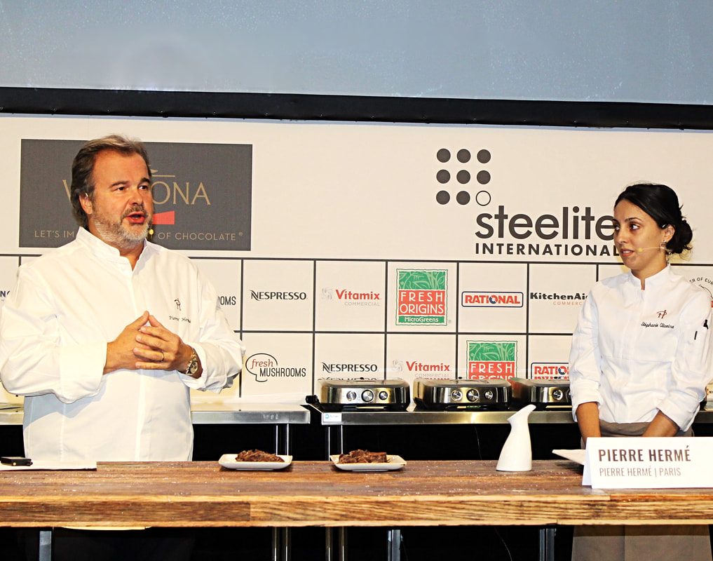Pastry Chef Pierre Hermé at StarChefs Congress 2019 - Photo by Cuisine Inspired